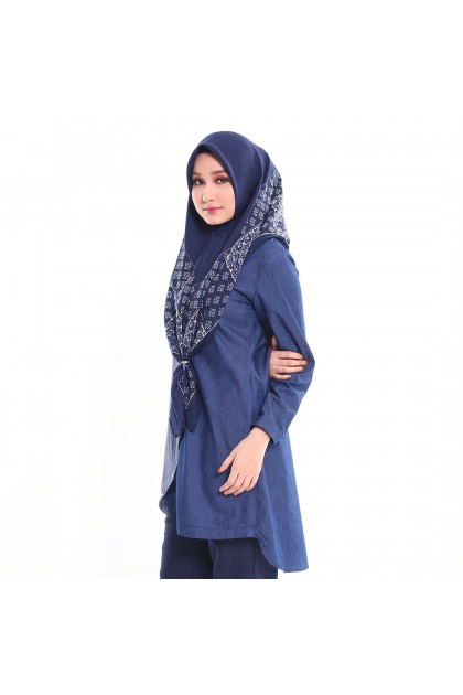 Tunic Zahwa Deep Blue