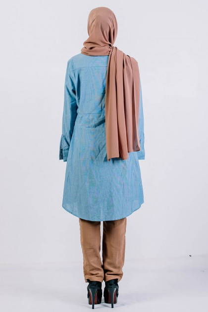 Tunic Belinda Air Force Blue
