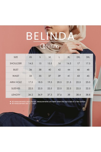 Tunic Belinda Navy Blue