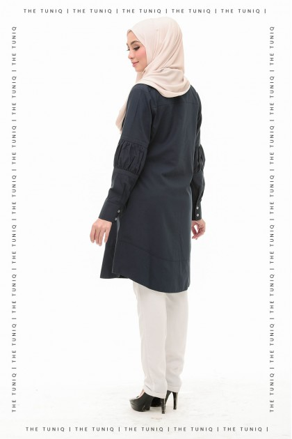 Tunic Aurelia Plain Midnight Blue