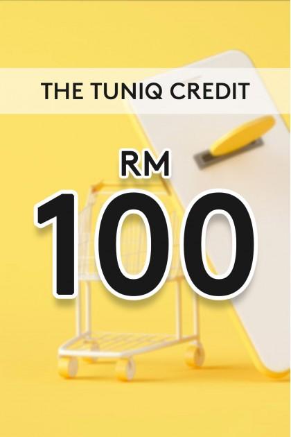 The Tuniq Credit RM100