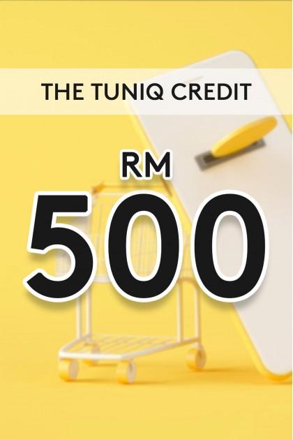 The Tuniq Credit RM500